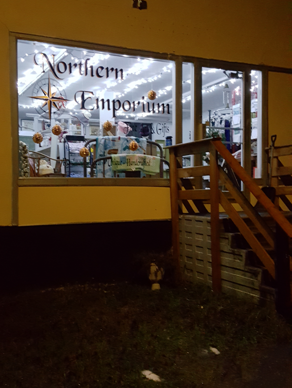 Northern Emporium Window Display